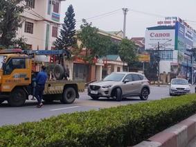 Mùng 3 Tết Mậu Tuất, thêm Mazda CX-5 gãy trục lái tại Ninh Bình