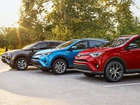 Đây là 10 mẫu SUV bán chạy nhất thế giới năm 2017, chủ yếu là xe Nhật