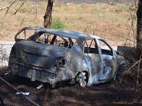 Tưới xăng đốt ô tô rồi lao xuống Biển Hồ, 2 cha con chết cháy