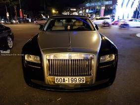 """Rolls-Royce Ghost biển """"tứ quý"""" 9 của đại gia Đồng Nai xuất hiện trên đường phố Sài thành"""