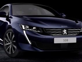 Peugeot 508 với thiết kế mới khiến Toyota Camry phải dè chừng