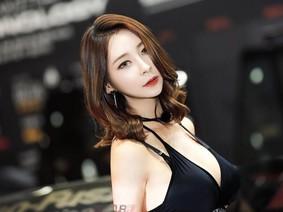 Ngất ngây với vẻ đẹp của người mẫu xe Hàn Quốc, Seo Hanbit