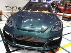 "Porsche Panamera Sport Tusismo ""lột xác"" với bản độ của Techart"
