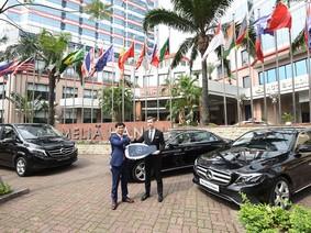 Khách sạn Melia Hà Nội nhập lô xe sang Mercedes-Benz E250