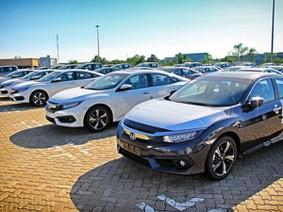 Hơn 1.000 xe ô tô Honda nhập khẩu sắp có mặt ở các đại lý miền Nam