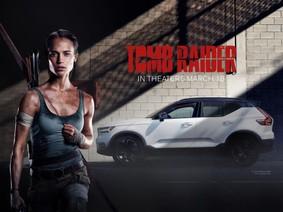 """Volvo XC40 xuất hiện đầy bất ngờ trong phim bom tấn """"Tomb Raider"""""""