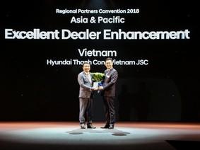 Hyundai Thành Công là nhà phân phối xuất sắc nhất châu Á Thái Bình Dương