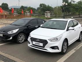Bắt gặp Hyundai Accent 2018 trên đường phố Hà Nội, sóng đôi với phiên bản cũ