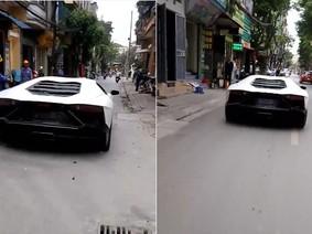 Lamborghini Aventador độ body kit LP720-4 50º Anniversario chật vật lưu thông tại Hà Nội