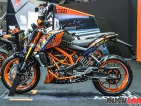 KTM Duke 250 2018 phiên bản đặc biệt trình làng