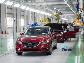 Dây chuyền lắp ráp hiện đại nhất Đông Nam Á của Mazda tại Việt Nam vận hành thế nào?