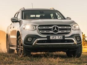 Xe bán tải hạng sang Mercedes-Benz X-Class ra mắt tại Úc, khó đến Đông Nam Á