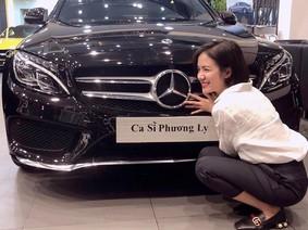 Em gái ca sĩ Phương Linh tậu Mercedes-Benz C300 AMG gần 2 tỷ Đồng
