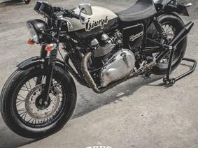 Heezinggang - Bản độ Triumph Thruxton 900 đơn giản mà tinh tế