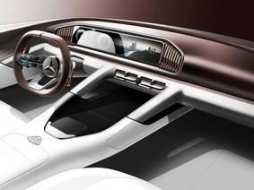 Vision Mercedes-Maybach Ultimate Luxury - Hình ảnh xem trước của Mercedes-Maybach GLS