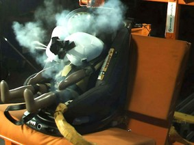 Ghế AxissFix Air tạo nên sự an toàn cho trẻ em khi ngồi trên ô tô