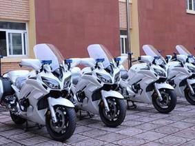 Xe hộ tống Yamaha FJR1300P của Bộ Tư lệnh Cảnh Vệ có gì đặc biệt