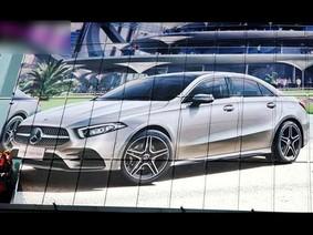 """Mercedes-Benz A-Class Sedan 2018 bất ngờ bị rò rỉ """"ảnh nóng"""""""