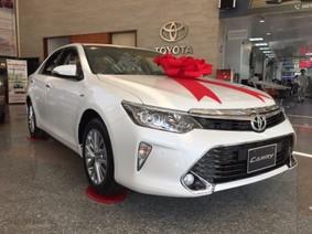 Giá xe Toyota Camry mới nhất tháng 4/2018: Xuất hiện thêm 3 phiên bản mới