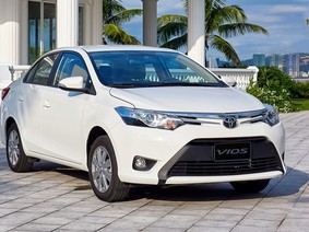 Cập nhật giá xe Toyota Vios mới nhất tháng 4/2018: Giữ nguyên giá bán