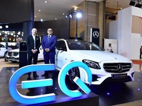 Mercedes-Benz E350e - Xe thân thiện với môi trường vừa ra mắt Đông Nam Á