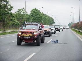 Hàng chục xe bán tải tụ tập mừng sinh nhật PVC tròn 6 tuổi