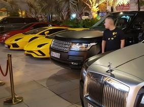 """Dàn siêu xe """"khủng"""" tụ tập cuối tuần tại Sài thành"""