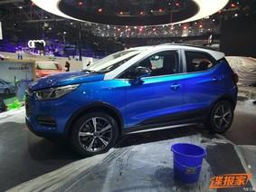 """BYD Yuan EV360 - Xe điện giá 361 triệu Đồng có đường nét """"na ná"""" Ford EcoSport"""