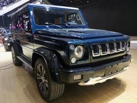 """BJ40L Plus và BJ80 Everest - Bộ đôi """"nhái"""" Jeep ra mắt ở triển lãm ô tô Bắc Kinh 2018"""