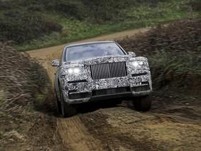 Rolls-Royce Cullinan sẽ chính thức trình làng vào tuần sau