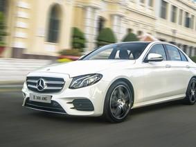 Giá xe Mercedes-Benz E-Class 2018 mới nhất tháng 5/2018