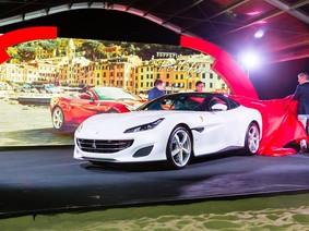 Siêu xe mui trần Ferrari Portofino ra mắt giới nhà giàu Singapore