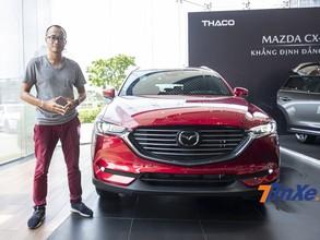 Đánh giá nhanh Mazda CX-8 - Tân binh SUV 7 chỗ vừa đẹp, vừa tiện nghi lại an toàn