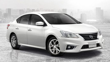 Nissan Sylphy 2017 nâng cấp nhẹ, điều chỉnh giá bán tại Thái Lan