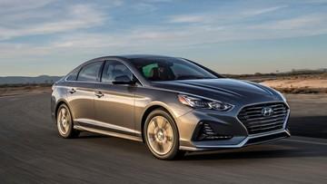 Hyundai Sonata 2018 ra mắt, giá từ 22.050 USD