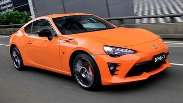 Phiên bản đặc biệt màu cam Toyota 86 2017 tới Úc