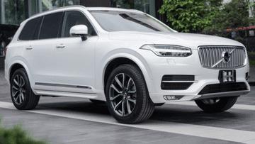 Triệu hồi Volvo XC90 tại Mỹ do lỗi dây an toàn