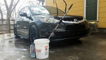 Danh sách 10 điều không nên làm khi rửa xe ô tô