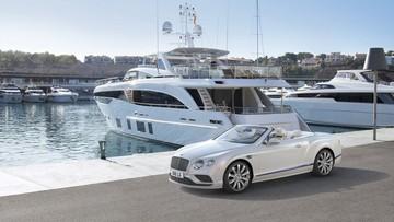Ngắm mẫu Bentley Continental GT Convertible tuyệt đẹp lấy cảm hứng thiết kế từ du thuyền