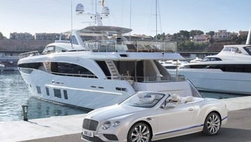Phiên bản đặc biệt Bentley Continental GT lấy cảm hứng từ du thuyền