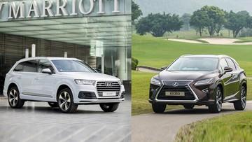 So sánh xe Lexus RX 2016 và Audi Q7 2016: Xe Đức hơn xe Nhật?