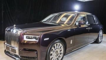 Tận mắt chiêm ngưỡng siêu xe Rolls-Royce Phantom 2018 tại Malaysia