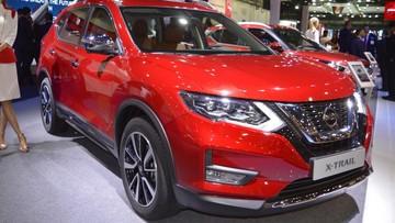 Cận cảnh thiết kế của Nissan X-Trail 2018 ngoài đời thực
