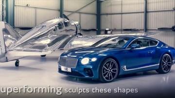 """""""Chiêm ngưỡng"""" thiết kếBentley Continental GT phiên bản mới"""