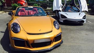 """Porsche 911 Turbo S mui trần độc nhất Việt Nam được độ """"khủng"""""""
