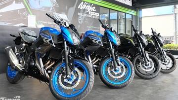 Lô xe Kawasaki Z300 ABS 2018 cập bến Việt Nam, giá 139 triệu Đồng