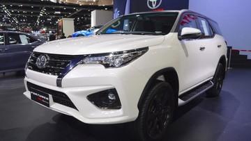 Chi tiết Toyota Fortuner TRD Sportivo phiên bản Thái