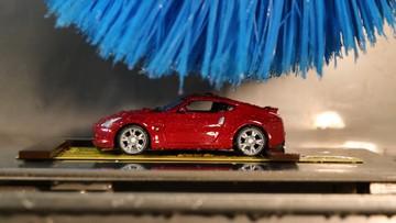 Đây là phương pháp thử nghiệm sơn của Nissan để đảm bảo khả năng chống xước