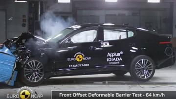 Kia Stinger đạt tiêu chuẩn an toàn 5 sao Euro NCAP