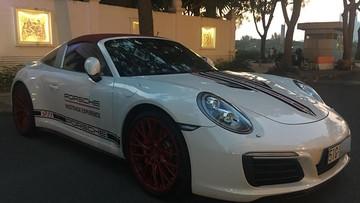 Sau 1 năm được đưa về nước, Porsche 911 Targa 4S 8,9 tỷ Đồng của tay chơi Sài thành đã có biển số trắng